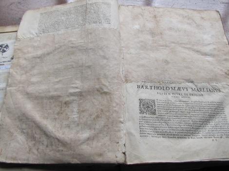 Texto censurado de Simón Grynaeus