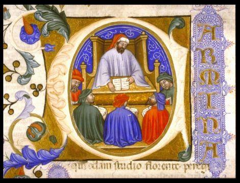 Boecio. Pensador romano (ss. V-VI d. C) (Tomado de: http://es.wikipedia.org/wiki/Boecio)