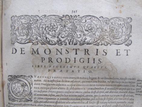 """Sobre los monstruos y prodigios"" (De Monstris et prodigii)"