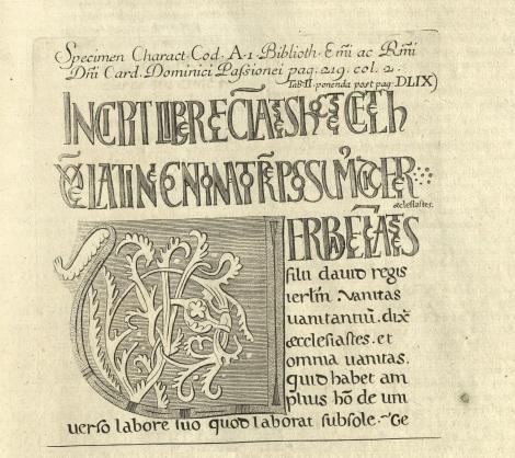 Nótese la complejidad tipográfica del título.