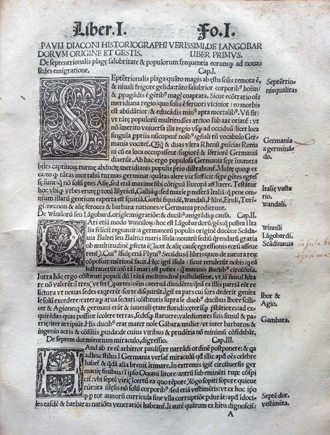 La calidad de la edición y de la impresión se pueden apreciar en estas mayúsculas capitales (S – P – H).