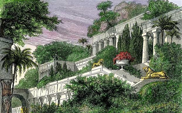 Los Jardines Colgantes de Babilonia ( httpwwwtelegraphcouk )