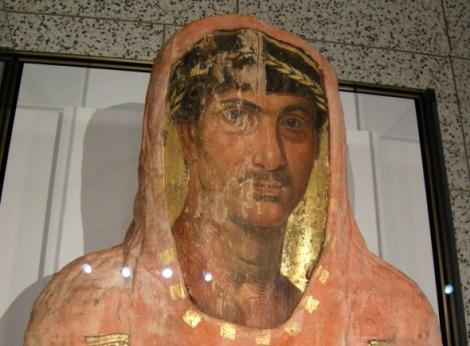 Detalle del rostro de la momia Heráclides (www.redhistoria.com)
