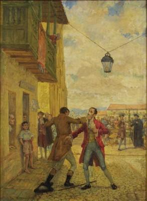 Reyesta del 20 de julio (s. f.), por Pedro alcántara Quijano.