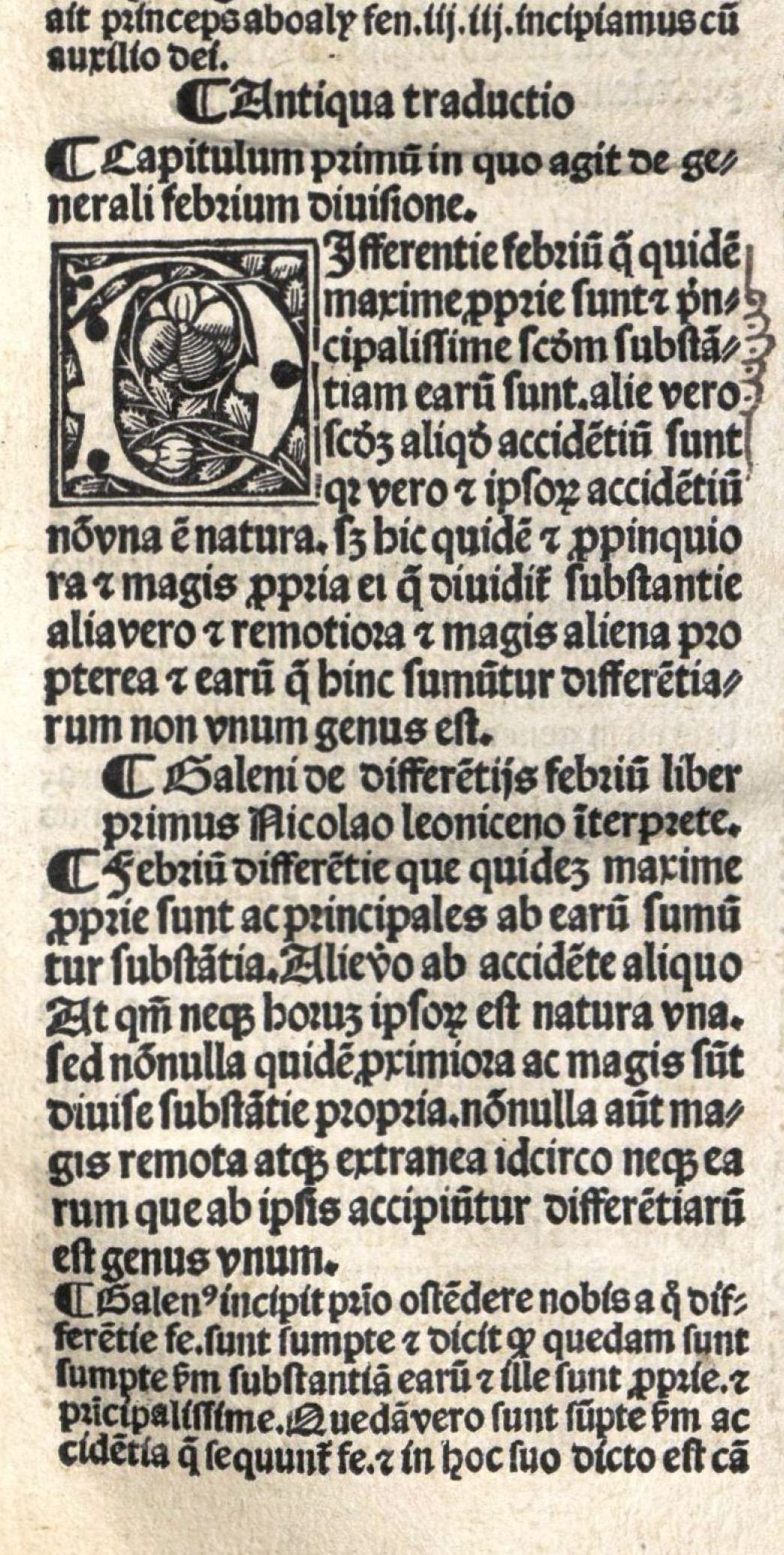 Método de la obra: traducción primitiva, luego versión leonicena y, finalmente, comentario de Garbo.