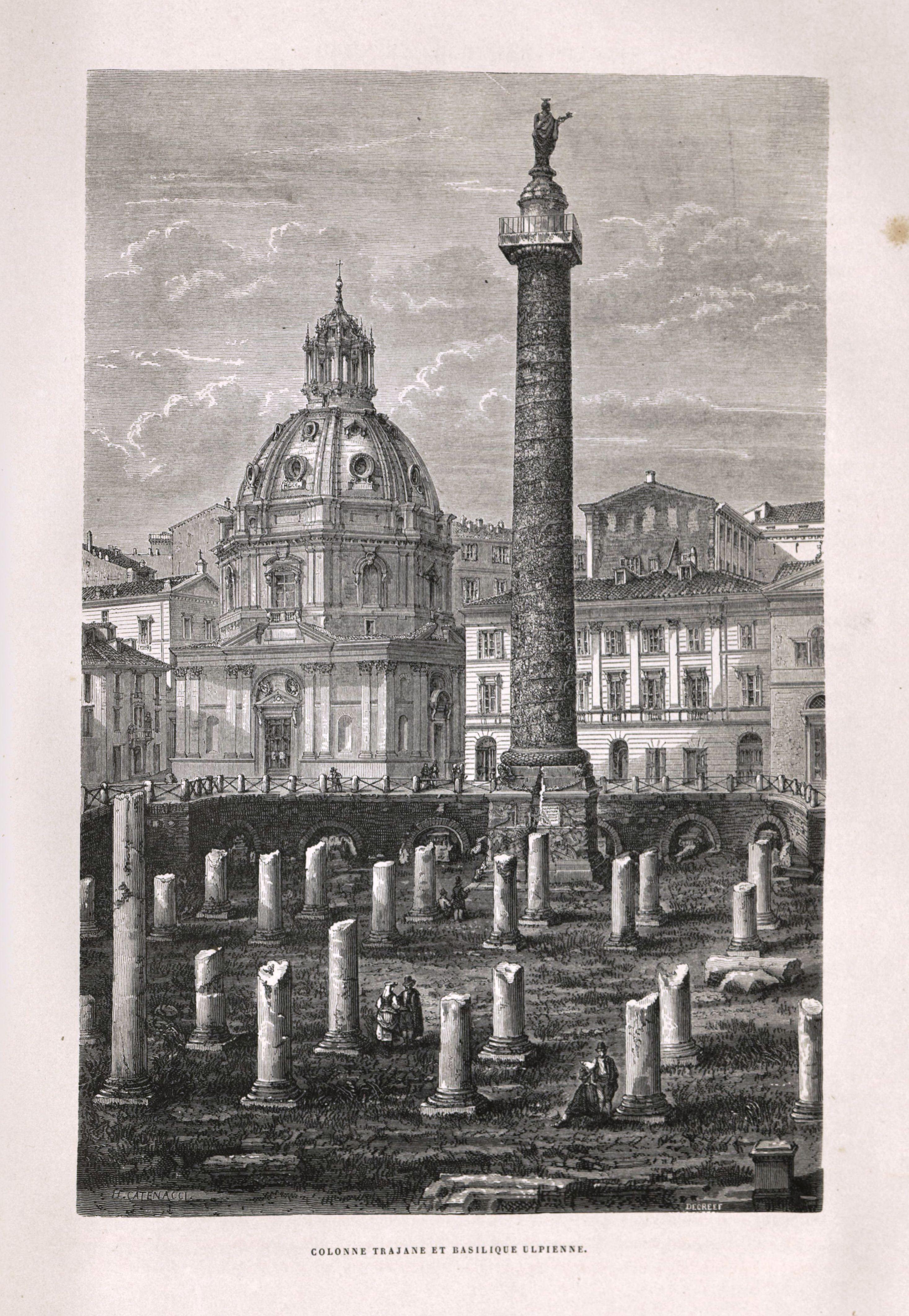 Columna Trajana y Basílica Ulpiana.