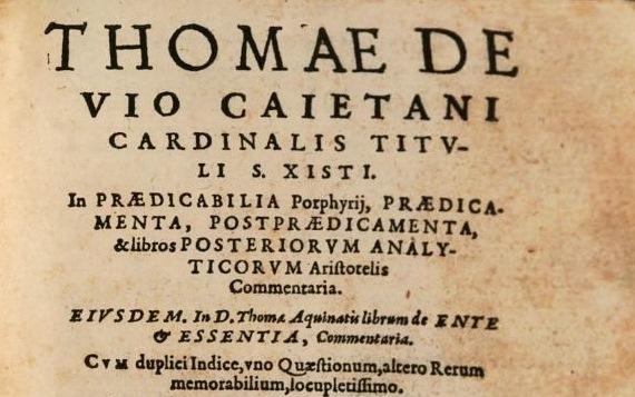 Edición de 1579, Lion, de unos Cometarios, con el opúsculo de ente et essentia.