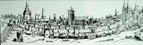 Deventer, 1550.