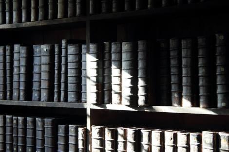 La Biblioteca del Queen's College.