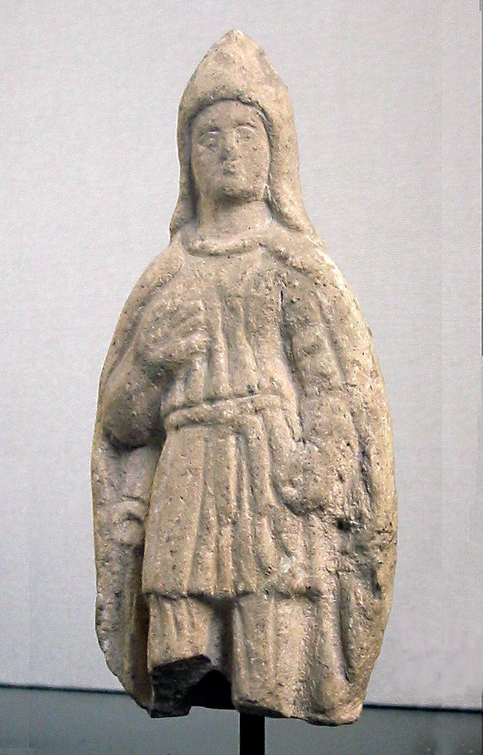 Frigio típico, en una escultura helenística.