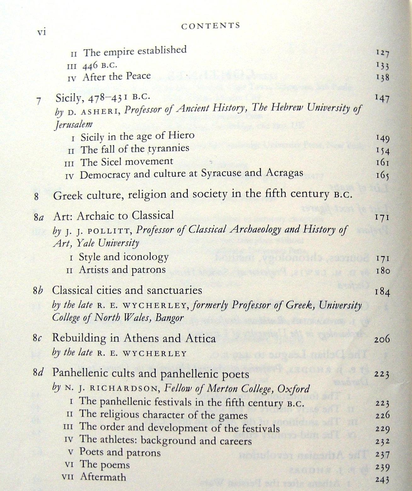 Un vistazo al índice, donde se constata la amplitud de temas de la obra.