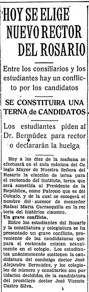 El Tiempo, 14-6-1930.