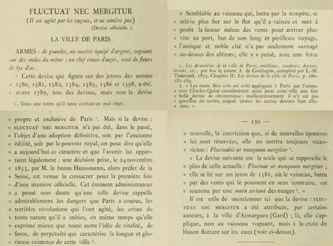 Les devises des villes de France : leur origine, leur historique, avec les descriptions des armoiries et quelques reproductions / /c Henri Tausin