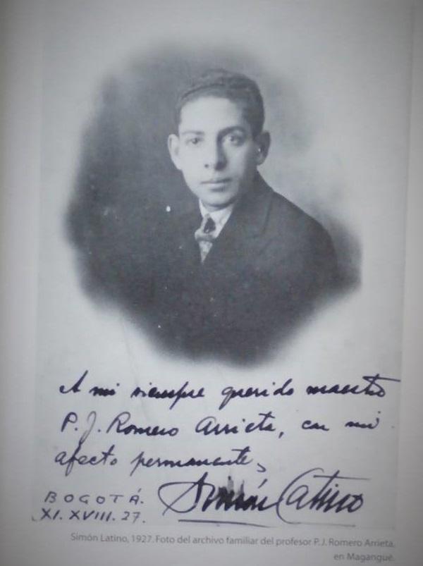 Simón, en 1927.