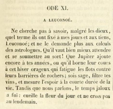 Oeuvres complètes d'Horace, de Juvénal